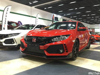 Bloody Type R by RMCDriftr