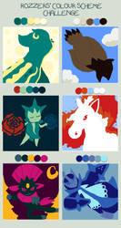 Rozzers Colour Challenge PKMN by LunaTheOtaku