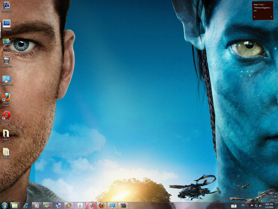 AVATAR Windows 7 Special Theme by yonited