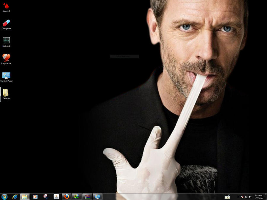 House M.D Windows 7 Theme by yonited