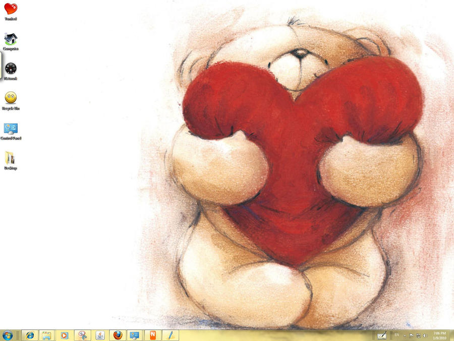 Cute Windows 7 Theme by yonited