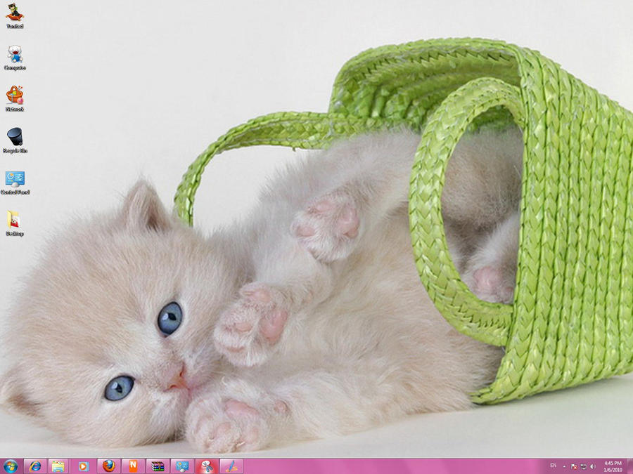 Cute Cats Windows 7 Theme by yonited