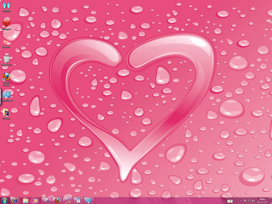 Romantic Windows 7 Theme by yonited