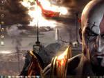 God Of War 3 Windows 7 Theme