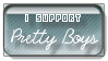 Pretty Boys Stamp by HappyStamp