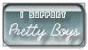 Pretty Boys Stamp by HappyStamp