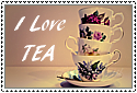Tea Cups stamp by HappyStamp