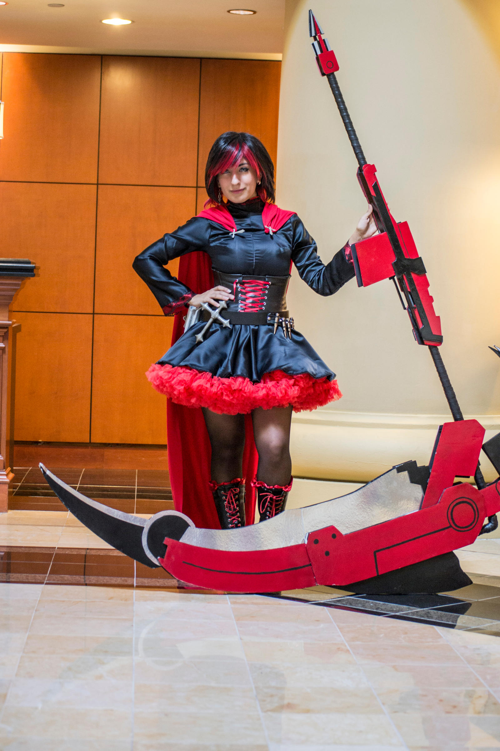 Ruby rose male cosplay