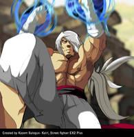 Kairi from Street Fighter EX2 PLUS by Kazemb