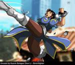 Chun Li - From a Street Fighter EX2 PLUS