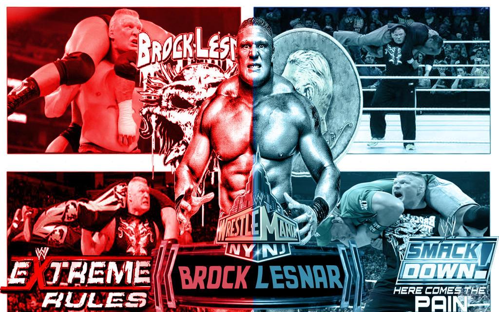 Brock Lesnar Wallpaper By Seif Gfx