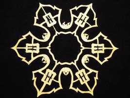 Hogwarts Seal Snowflake by beep3rocks