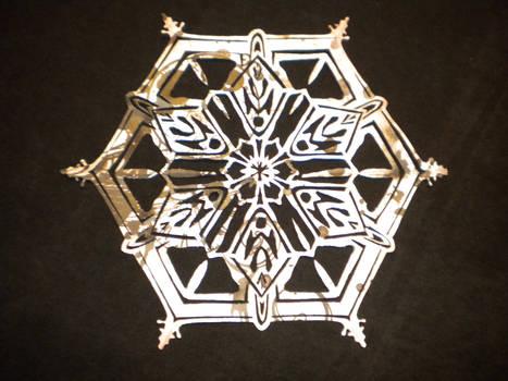 Real Snowflake, printed side
