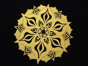 Multi Petal Flower Snowflake