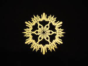 Feathery Snowflake