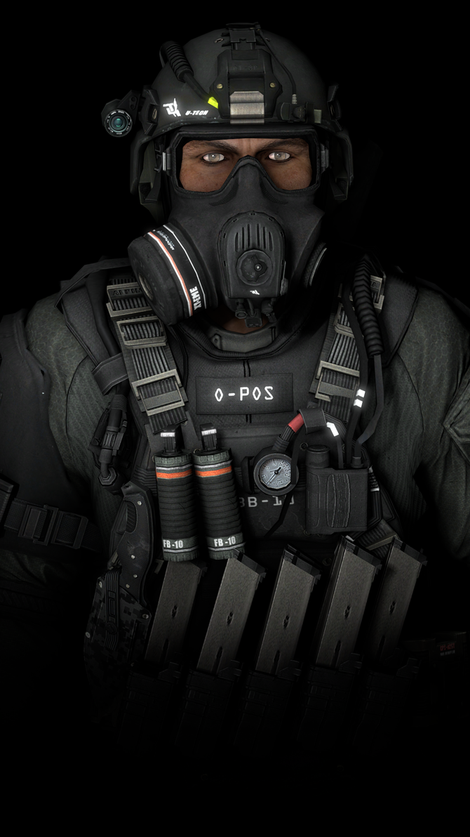 Call Of Duty Ghosts Federation Soldier by SubTheXtraordinaire on ...