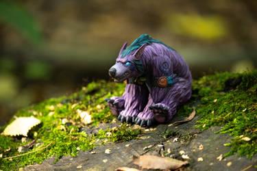 Druid bear sculpture World Of Warcraft by vladon177