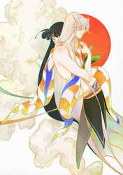 sesshoumaru vs rin3 by newihsus