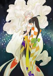 sesshoumaru vs rin1 by newihsus