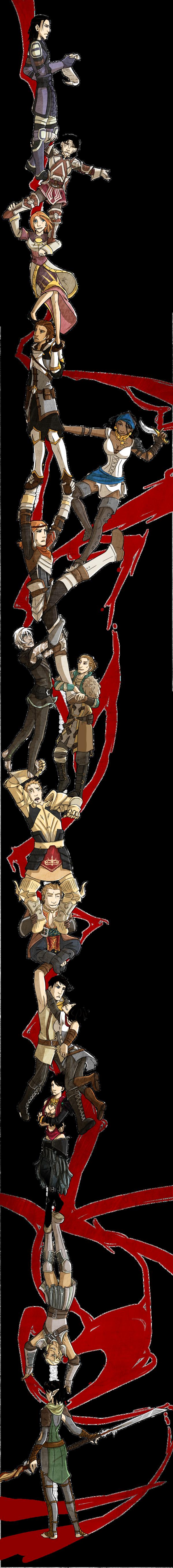 Durarara ED - Dragon Age style by Cah3thel