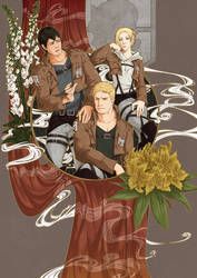 SnK - The three of them [possible spoilers]