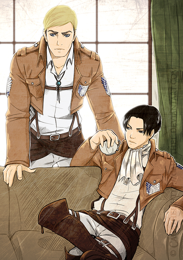 Snk - Survey Corps by Cah3thel