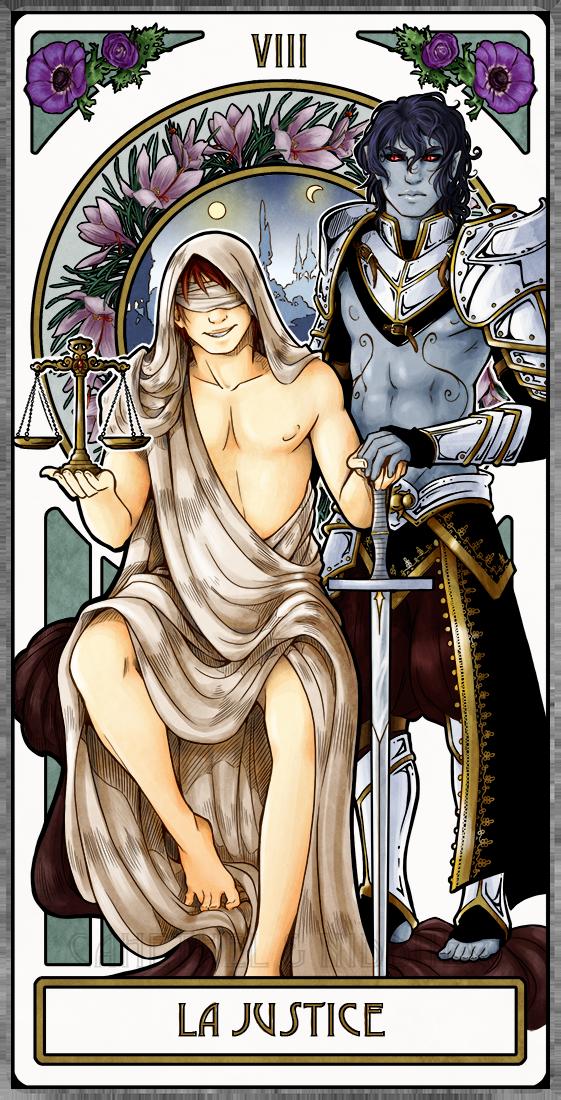 OC - VIII - La Justice by Cah3thel