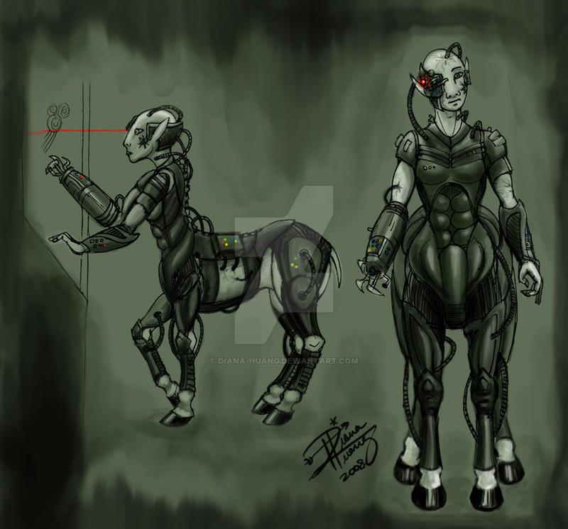 Borg Centaur by Diana-Huang