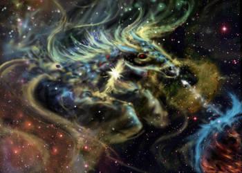 Horse Nebula by Diana-Huang