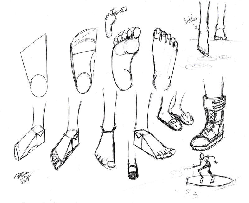 Draw Feet 2 by Diana-Huang
