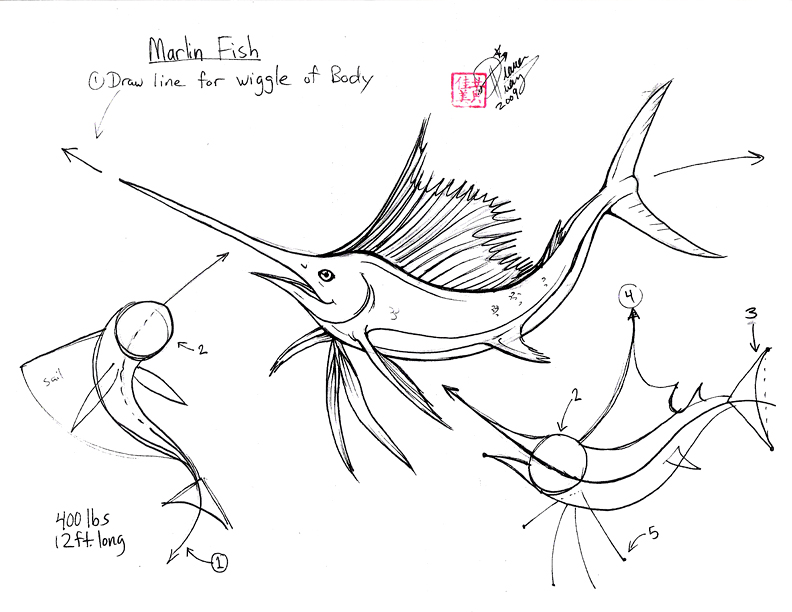 Pin Blue Marlin Colouring Pages On Pinterest