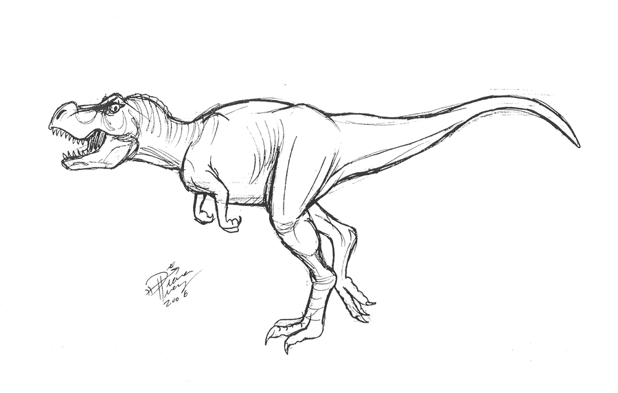 Image Result For T Rex Coloring Page Cute T Rex Coloring