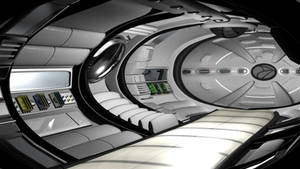 Spaceship Interior at Endpoint