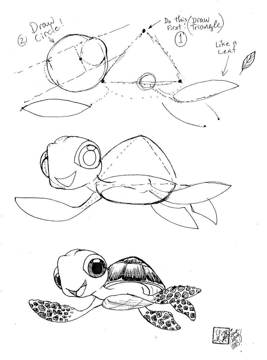 http://fc08.deviantart.net/fs71/i/2010/262/3/e/draw_squirt_the_sea_turtle_by_ditroi-d2z2z7c.jpg Baby Sea Turtles Drawings Step By Step