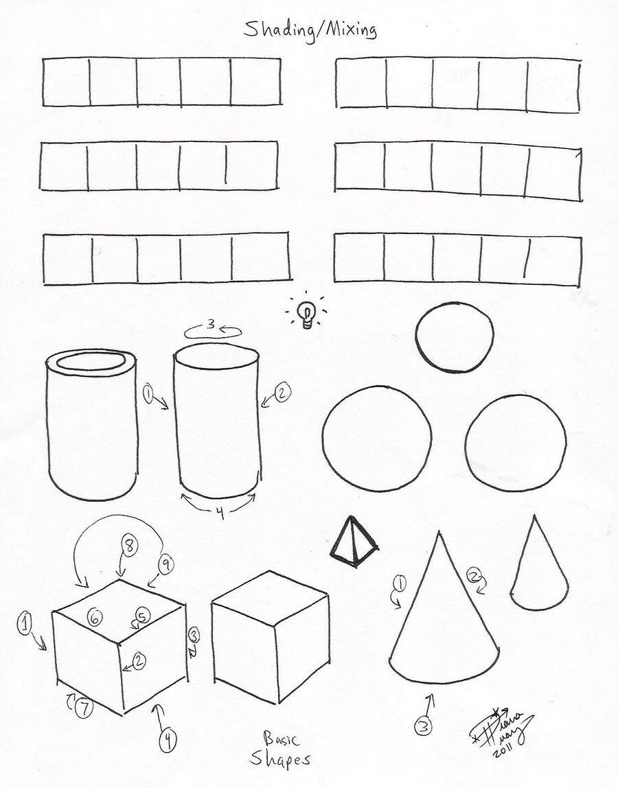 shading mixing worksheet p1 by diana huang on deviantart. Black Bedroom Furniture Sets. Home Design Ideas