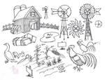 Draw Farm Stuff by Diana-Huang