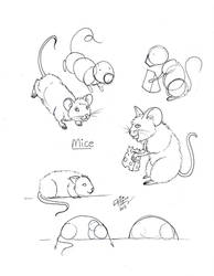 Draw Mice by Diana-Huang