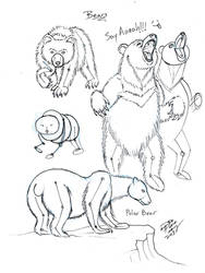 Draw Bears by Diana-Huang