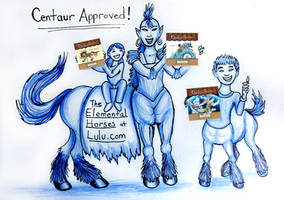 Centaur Ad by Diana-Huang