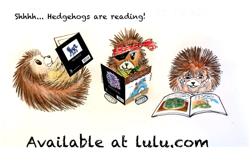 Hedgehog Ad by Diana-Huang