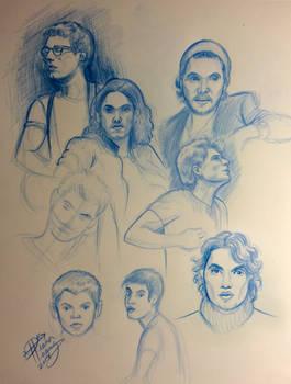 John Mayer Portrait Sketches