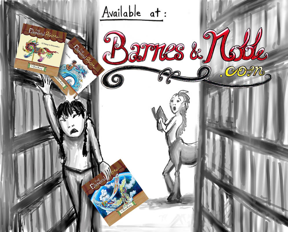 Second Barnes and Noble Advertisement by Diana-Huang