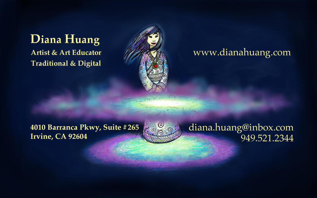 The Magicians Business Card by Diana-Huang on DeviantArt