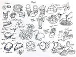 Draw Food by Diana-Huang
