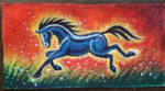 Blue Horse WIP