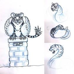TigerSwan concept sketches