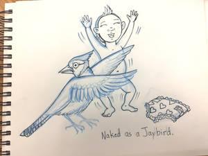 Naked as a Jaybird WIP
