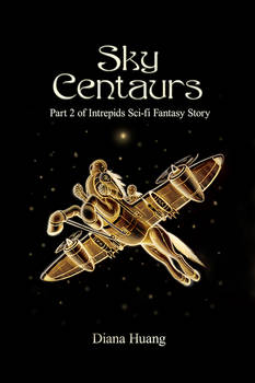 Sky Centaurs Book Cover WIP