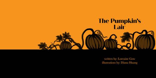 The Pumpkins Lair book cover WIP