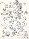Draw Super Mario Stuff